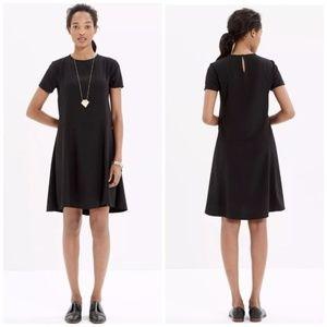 Madewell tribune dress short sleeve shift